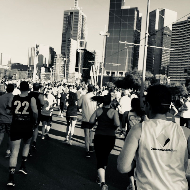 Running is spreading. MelbMara gets bigger every year.