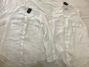 Classics, minimalist, style, linen, bargain, Prudence, white shirt,